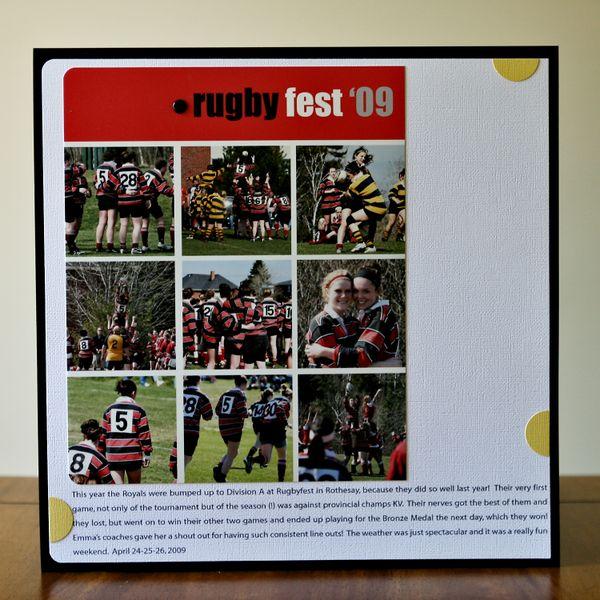 Rugbyfest 09