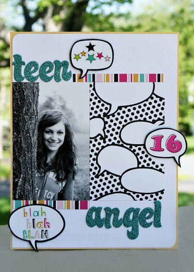 Teen angel-web