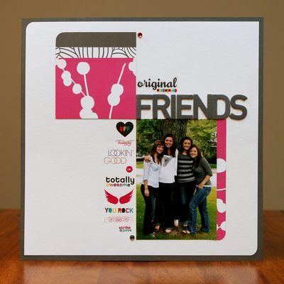 Original friends blog