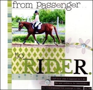 Passengerrider