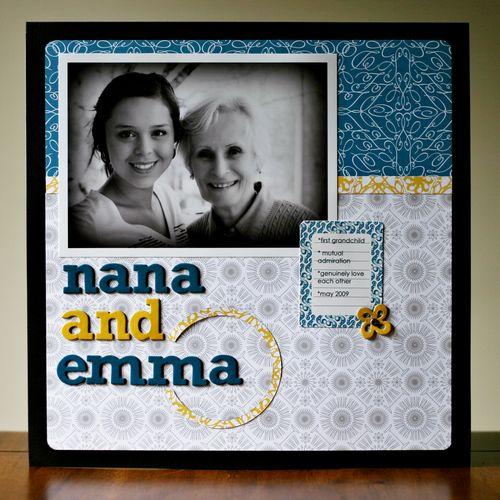 Nana and emma
